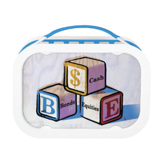 Toy Blocks Lunch Box