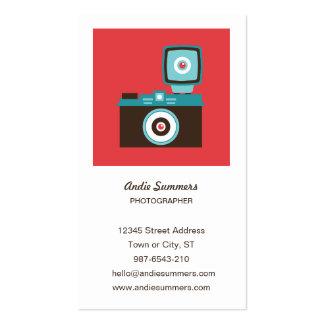 Toy Camera (Diana) Photographer Profile Card Business Card Template
