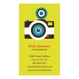 Toy Camera (Fisheye) Photographer Biz Card Business Card