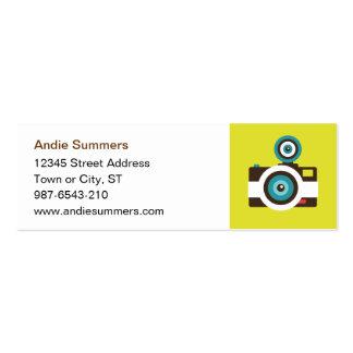 Toy Camera (Fisheye) Profile Card Business Card