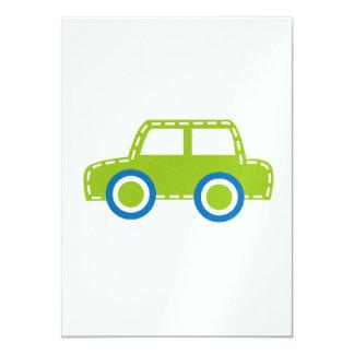 Toy Car 11 Cm X 16 Cm Invitation Card