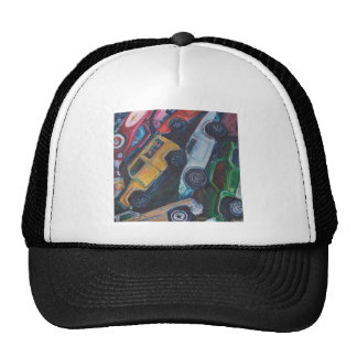 Toy Car Painting Hats