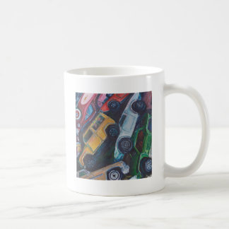 Toy Car Painting Coffee Mugs