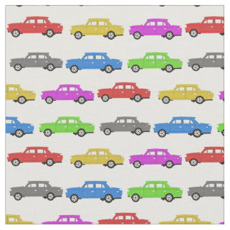 Toy Cars Fabric