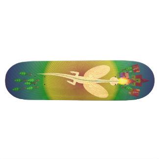 toy dragon flying custom skateboard
