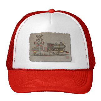 Toy Electric Train Hats