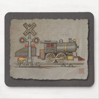 Toy Electric Train Mouse Pad