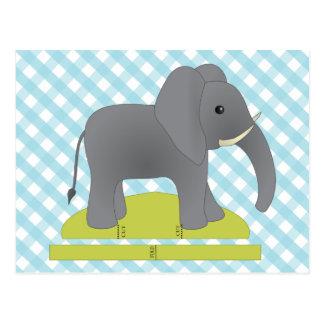 Toy Elephant Postcard