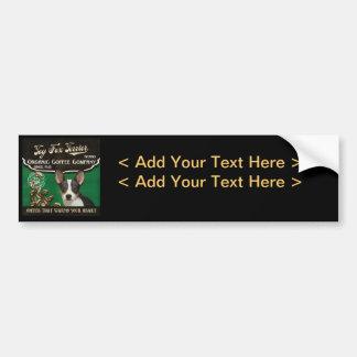 Toy Fox Terrier Brand – Organic Coffee Company Bumper Sticker