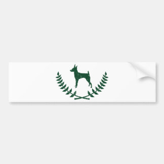 Toy Fox Terrier Bumper Sticker