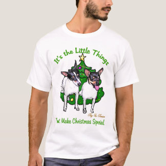 Toy Fox Terrier Christmas Gifts T-Shirt