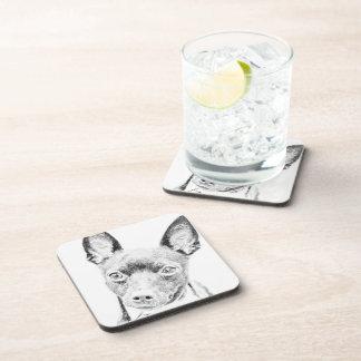 Toy Fox Terrier Drink Coasters