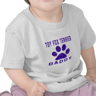 Toy Fox Terrier Daddy Gifts Designs T-shirt