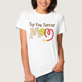 Toy Fox Terrier Dog Breed Mom Gift Tee Shirt