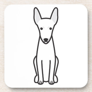 Toy Fox Terrier Dog Cartoon Coaster
