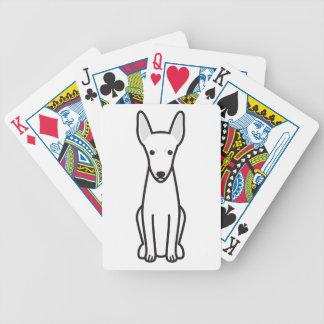 Toy Fox Terrier Dog Cartoon Bicycle Card Decks