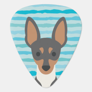 Toy Fox Terrier Guitar Pick