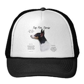 Toy Fox Terrier History Design Trucker Hat