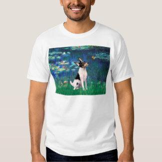 Toy Fox Terrier - Lilies 5 Tshirts