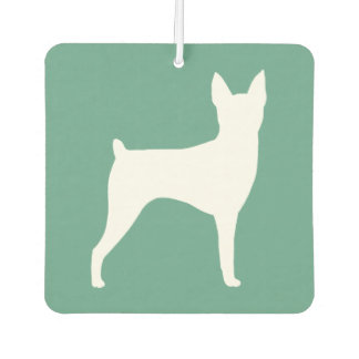 Toy Fox Terrier Silhouette