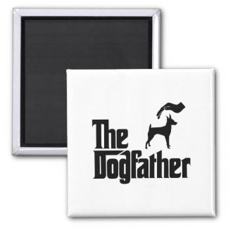 Toy Fox Terrier Square Magnet