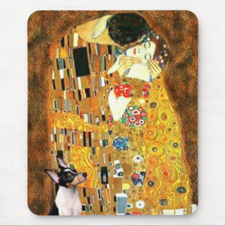 Toy Fox Terrier - The Kiss Mouse Pad
