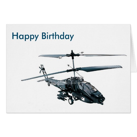 Toy Helicopter image for birthday-greeting-card Card