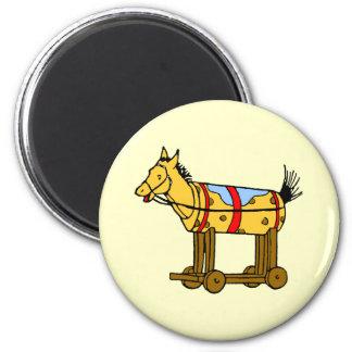 Toy Horse Vintage Art Magnet