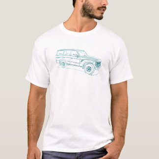 Toy LandCruiser FJ60 1980-90 T-Shirt