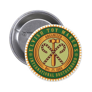 Toy Makers Union 6 Cm Round Badge