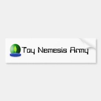 Toy Nemesis Army Bumper Sticker Car Bumper Sticker
