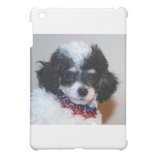 Toy Parti Poodle Puppy face iPad Mini Cover