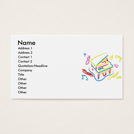 Toy_Piano Business Card