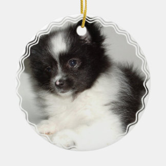 Toy Pomeranian Dog Ornament