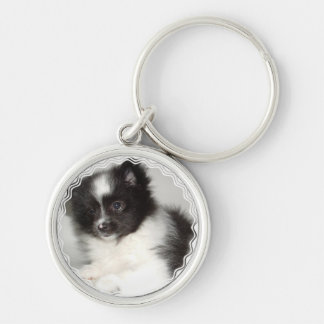 Toy Pomeranian Keychain