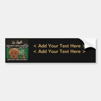 Toy Poodle Brand – Organic Coffee Company Bumper Sticker