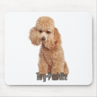 toy poodle breeds mouse pad