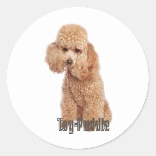 toy poodle breeds sticker