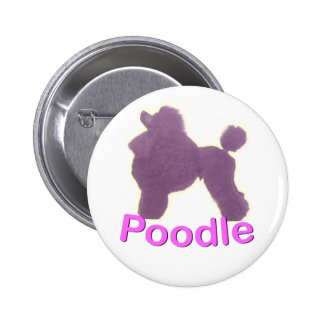 Toy Poodle Cradle in Purple / Pink Button