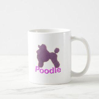 Toy Poodle Cradle in Purple / Pink Mug