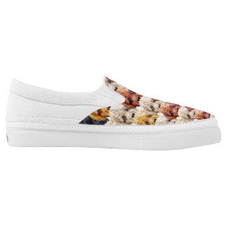 Toy Poodle friends Slip-On Shoes