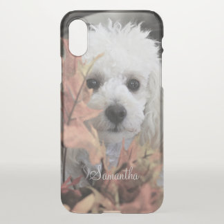 Toy Poodle iPhone X Clearly™ Deflector Case