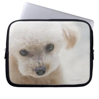 toy poodle laptop sleeve