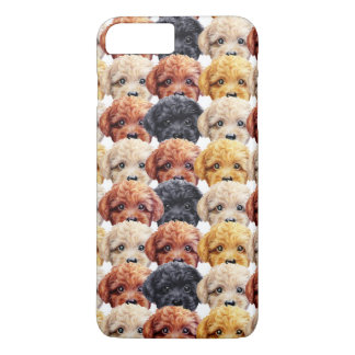 Toy poodle Original painting and design by miart iPhone 8 Plus/7 Plus Case