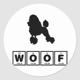 Toy Poodle Stickers