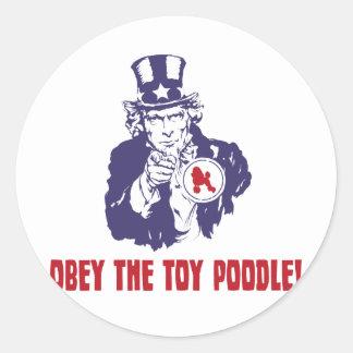 Toy Poodle Sticker