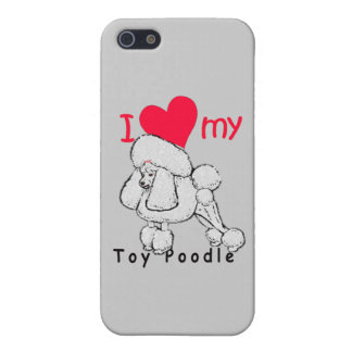 Toy Poodle title iPhone 5 Covers