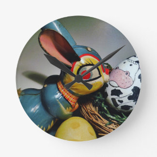 Toy Rabbit and  cow egg Clocks