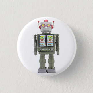Toy Robot 3 Cm Round Badge