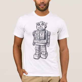 Toy Robot drawing T-Shirt